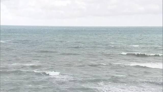 北海道「前は見えていた小さい島がなくなった」