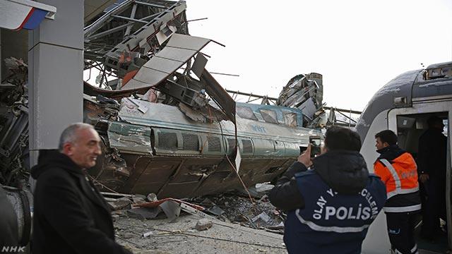トルコ 高速鉄道の事故で9人が亡くなる