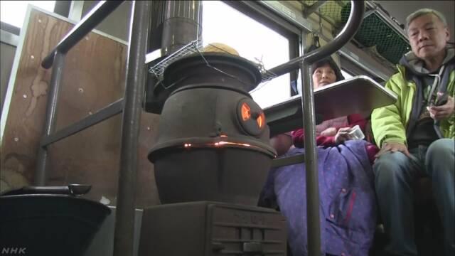 冬の訪れ告げる「ストーブ列車」運行始まる 青森
