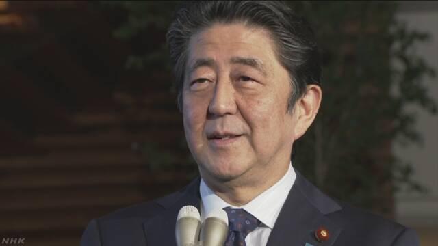 安倍首相の今年の漢字は「転」