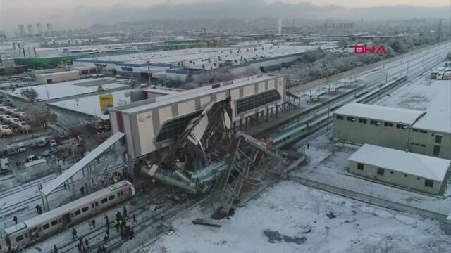 トルコ 高速鉄道で事故 9人死亡 47人けが