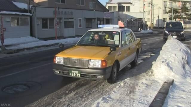 北海道 函館市で「塩ラーメンタクシー」が走り始める