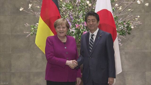 日独首脳会談 経済面での関係強化で合意