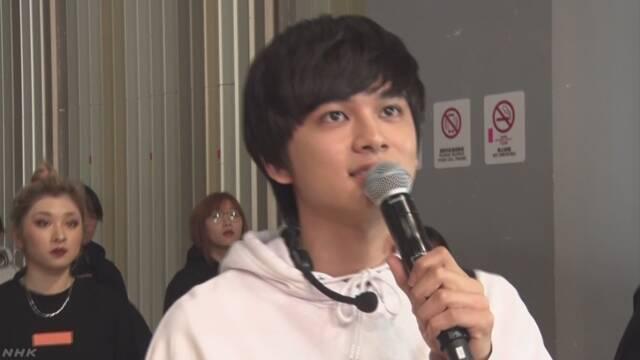 日本の人気男性グループ 上海で若者と交流
