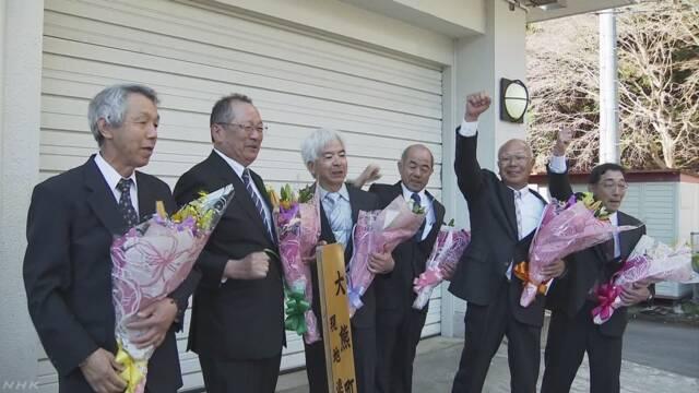 福島 大熊町で清掃「じじい部隊」活動に幕 避難指示解除へ