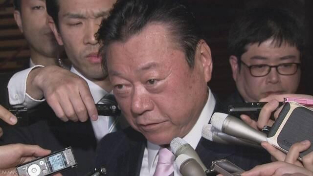 オリンピックの仕事をしている桜田大臣がやめる